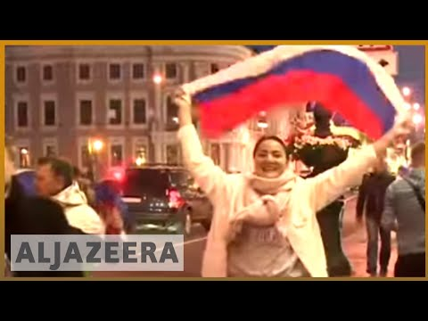 🇷🇺 World Cup: Russian euphoria after victory over Spain | Al Jazeera English