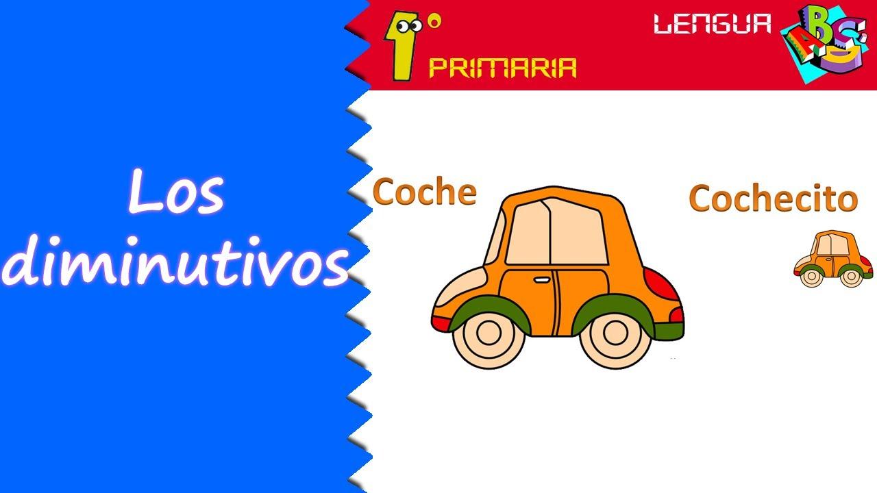 Lengua Castellana. 1º Primaria. Tema 5: Los diminutivos