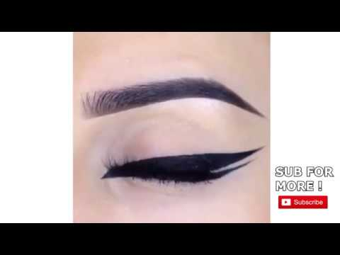 How To Slay A Perfect Double Winged Eyeliner! | 2018 💕