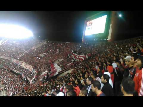 """""""TIRASTE GAS,ABANDONASTE-RIVER VS CENTRAL"""" Barra: Los Borrachos del Tablón • Club: River Plate"""