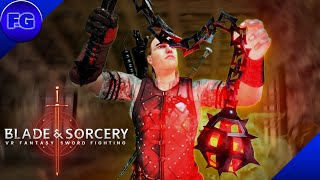 U8 Gameplay Mini Gun And Lightning Reflexes Blade And Sorcery