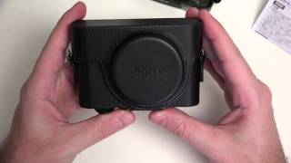 Sony LCJRXF/B Jacket Case For RX100M3