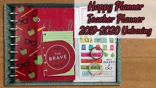 Happy Planner Teacher Planner 2019 | Pastel Awesome Teacher