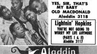 FIVE KEYS - Old MacDonald / Yes Sir, That's My Baby -  ALADDIN 3118 - 1/52