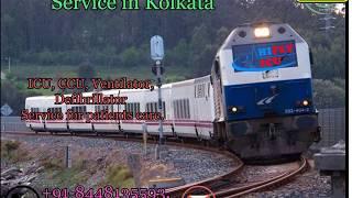 Best Medical Facility Train AMbulance from Kolkata to Delhi By Hifly ICU