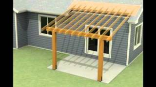 Design Of A Roof Addition Over An Existing Concrete Patio In Bozeman, MT Part 1