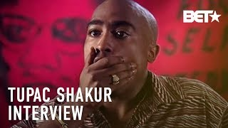 """Tupac Shakur: """"I Didn't Have A Police Record Until I Made A Record"""""""