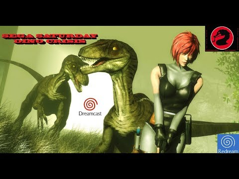 Dino Crisis - SEGA Dreamcast Gameplay Sample HD - Redream