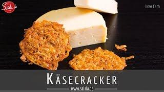 Käsechips selber machen Käsecracker Rezept - salala.de - Low Carb und glutenfrei