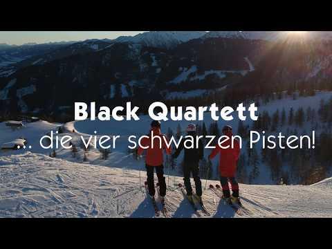 Black Quartett - die vier schwarzen Pisten auf der Reiteralm!