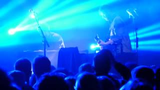Dan Mangan & Blacksmith - Leaves, Trees, Forest - Vancouver - 2015-03-13