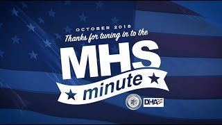 MHS Minute October 2018