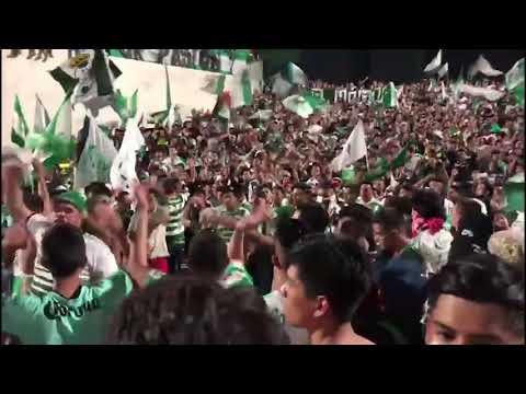 """La Komun (Santos Laguna) y aficion celebrando el campeonato Clausura 2018 de la Liga MX"" Barra: La Komún • Club: Santos Laguna"
