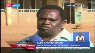 Leo Mashinani: KCPE Yaanza Rasmi na Hisabati Kakamega, Novemba 1 2016
