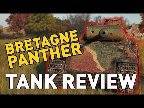 World of Tanks || Bretagne Panther - Tank Review