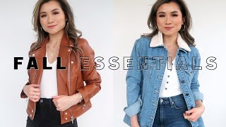 10 FALL ESSENTIALS Every Woman Should Have | Fall lookbook Nordstrom Anniversary Sale | Miss Louie