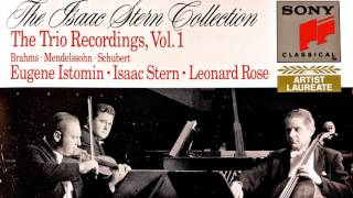 Schubert - Trios n°1, 2 Op.100 for Piano, Violin & Cello (reference recording : Trio Isaac Stern)