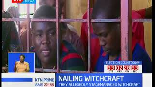 Six suspects believed to have been involved in the witchcraft drama in Bamburi charged