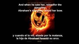 los juegos del hambre-Abraham's daughter-Arcade fire-(letra en español/ingles)