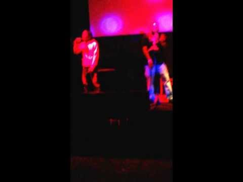 Ajizzleondathoe (live performance) @mcsaltys 1-18-14
