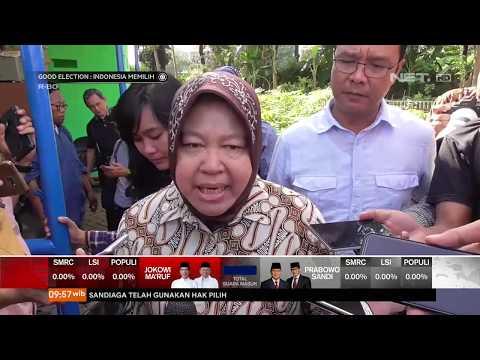 Walikota Surabaya Ibu Risma Imbau Warga Untuk Tidak Golput