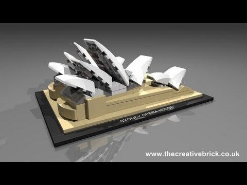 Vidéo LEGO Architecture 21012 : L'opéra de Sydney