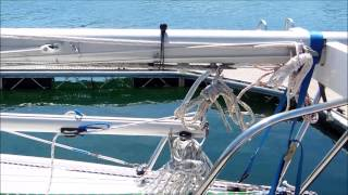Raising the Catalina 22 Mast Without a Gin Pole - Дом 2