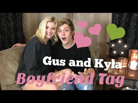KYLA and GUS Boyfriend Tag! | Gs and the GiRls