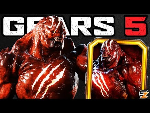 GEARS 5 Characters Gameplay - BLOOD MOON IMAGO Character Skin Multiplayer Gameplay!