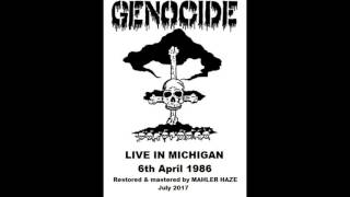 Genocide (Repulsion) (US) Live in Michigan.6th April 1986. (Full show)