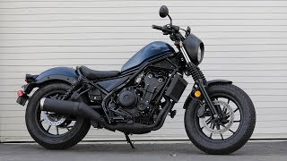 2020 Honda Rebel 500 Review | MC Commute