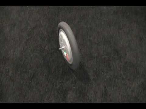 Gyrowheel Gyroscopic Bicycle Wheel Will Eliminate Training Wheels