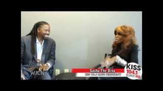 Sasha The Diva from KISS 104.1 FM Atlanta's Best R&B