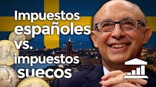 SUECIA o ESPAÑA ¿Quién paga MÁS IMPUESTOS? - VisualPolitik