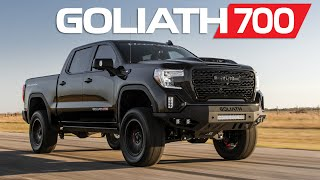 GOLIATH 700 HP Supercharged 2020 GM Trucks By Hennessey