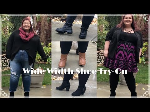 The BEST Wide Width Winter Boots | Luoika Wide Width Boots Review and Try-On | Plus Size Fashion