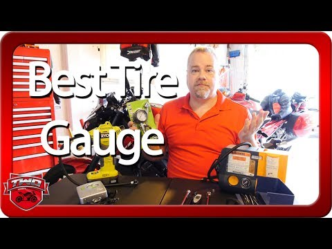 Motorcycle Tire Gauge Accuracy Comparison Test
