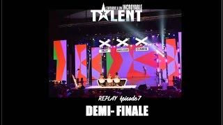 REPLAY OFFICIEL -L'Afrique a un incroyable talent - Demi-Finales 1