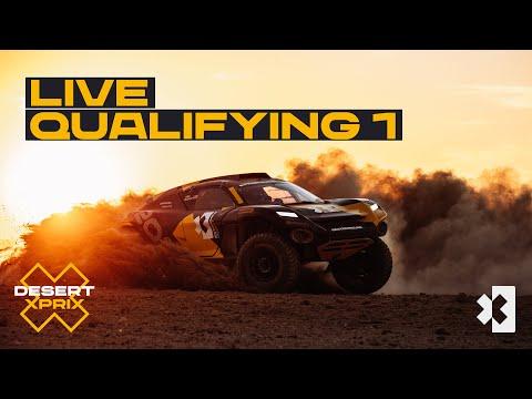 エクストリームE 2021 第1戦 サウジアラビア 予選1のライブ配信動画