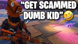 My own FREIND just scammed ME!! 😞😭 (Scammer Get Scammed) Fortnite Save The World