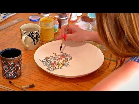«Работаю на себя». Производство керамики