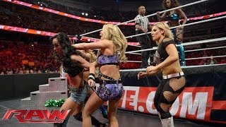 Naomi vs. AJ Lee - Lumber Jill Match: Raw, March 31, 2014