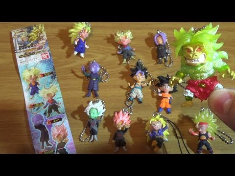 Dragon Ball UDM Burst Part 22 | Colección de Llaveros Super de Bandai y Extras!
