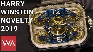 Harry Winston 2019. Hands-on The Histoire De Tourbillon 10, Equipped With Four Tourbillons.