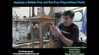 Applying Polyurethane Finish On Vertical Surface
