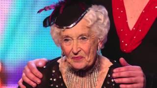 BEST TALENT Spectacular Salsa Paddy & Nico oldest dancer in the world Britain's Got Talent 2014