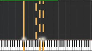 Easy Piano Song Tutorial- How to Play -Missing (with Synthesia and Propellerheads Reason 7 8 9 )