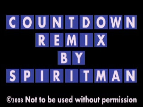 Countdown Theme Remix By Spiritman Mp3