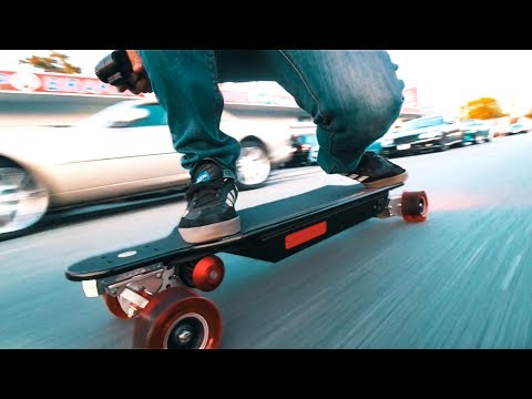 INSANE Electric Skateboard – 6000 WATT
