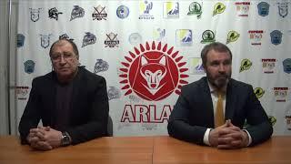 Пресс-конференция «Арлан»-«Темиртау»,  счет в серии 3-2